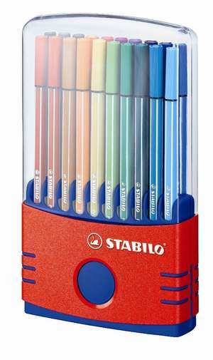 STABILO Pen 68 Colorparade Box of 20 Assorted picture