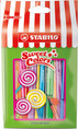 Pen 68 Mini Sweet Colors premium fibre-tip pen - plastic pack of 8 colours