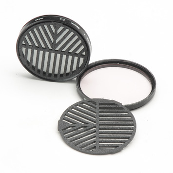 Bahtinov Focus Mask, 77mm camera filter, Unmounted picture