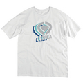 TRIPLE LOGO TEE - WHT