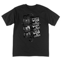 TAPE STACKS TEE - BLK