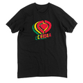 TRIPLE LOGO TEE - BLK