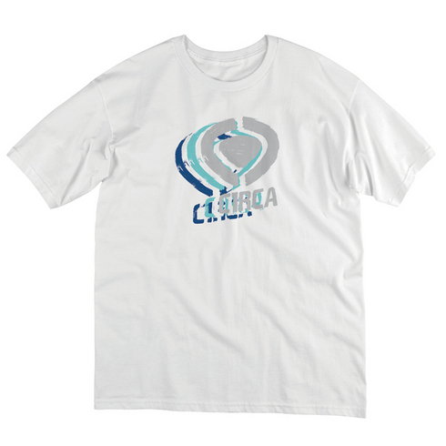 TRIPLE LOGO TEE - WHT picture