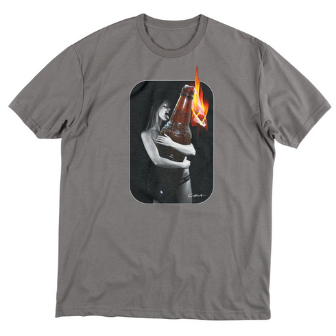 LOADED TEE - ASH picture