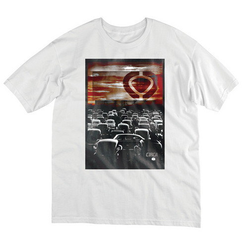 DRIVE IN TEE - WHT picture