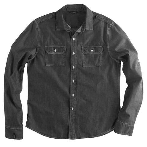 MORTAR CHAMBRAY WOVEN - BLK picture