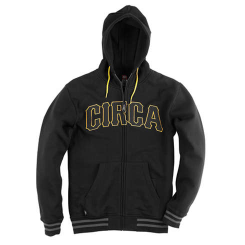 SKURVY ZIP FLEECE - BLK picture