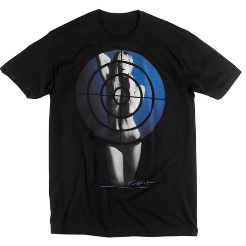 TARGET TEE - BLK picture