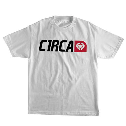 CORP LOGO TEE - WHT picture