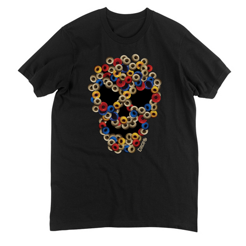WHEELS TEE - BLK picture