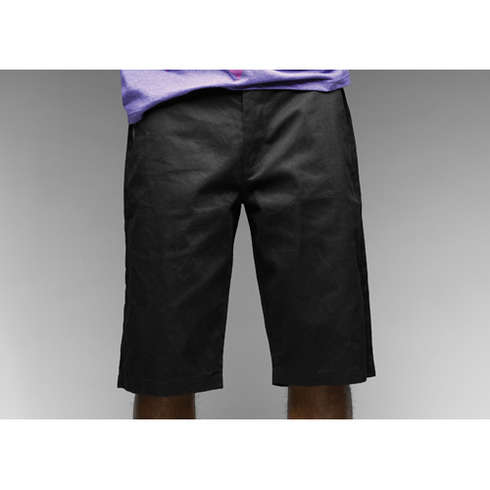 TAILOR CANVAS SHORTS - BLK picture