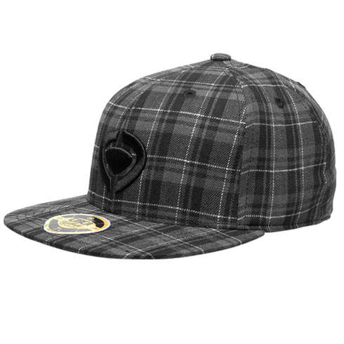 IGNITE PLAID FITTED HAT - BGWP picture