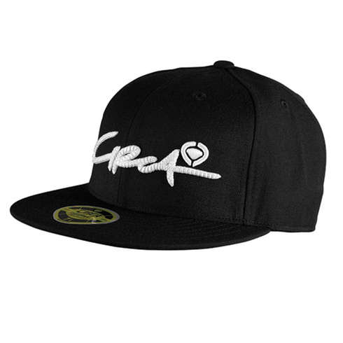 SELECT SCRIPT FITTED HAT - BKWH picture