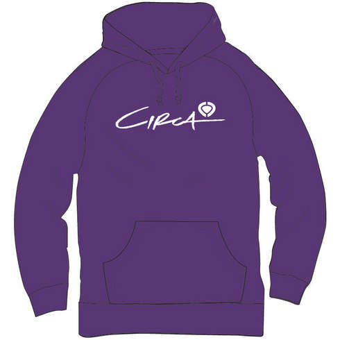SELECT LOGO HOOD FLEECE - PUR picture