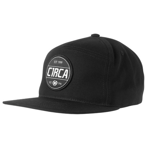BADGE SNAP BACK CAP - BLK picture