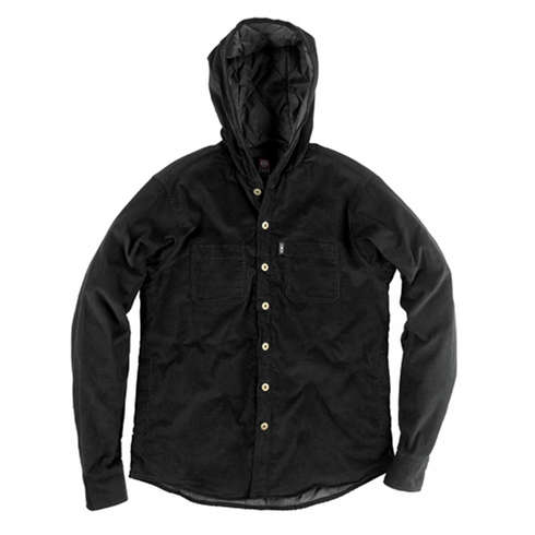 CYNIC CORD BUTTON DOWN - BLK picture