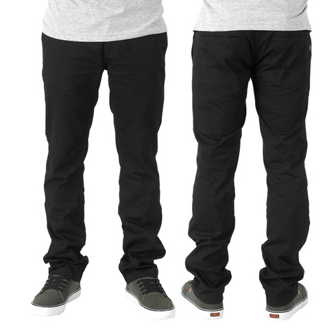 HEXAGRAM CHINO PANT - BLK picture
