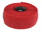 Cork handlebar tape, solid - red
