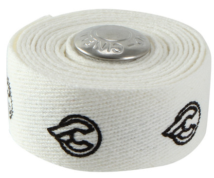 Cotton handlebar tape, white picture