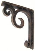 "Keaton Iron Corbel, 5 1/2""d x 8""h x 1 1/2""w, Oil Rubbed Bronze"