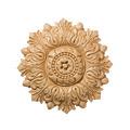 Medium Acanthus Medallion, 8w x 8h x 1 1/2d, Lindenwood