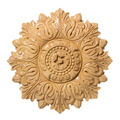 Medium Acanthus Medallion, 12w x 12h x 1 1/2d,  Lindenwood