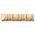 "Egg & Dart(Repeats 2 3/8""), 1 1/4'' x 13/16'' x 8' length, Maple"