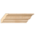 Traditional Crown, 3 1/2'' x 13/16''x 8' length, Maple