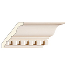 Large Dentil Crown (Dentil is overlay), 5 1/2'' x 13/16'', Poplar