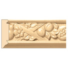 "Tuscan Country Frieze(Repeats 13 1/4""), 3 1/2'' x 13/16'' x 8' length, Maple"