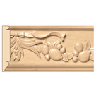 "Large Sicilian Frieze(Repeats 15 1/2""), 5 1/4'' x 13/16''x 8' length, Maple"