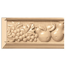 "Large Tuscan Country Frieze(Repeats 21""), 5 1/4'' x 13/16''x 8' length, Maple"