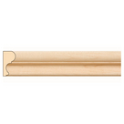 """Traditional Panel Mould, 1 1/2""""w x 3/4""""d x 8' length, Maple"""