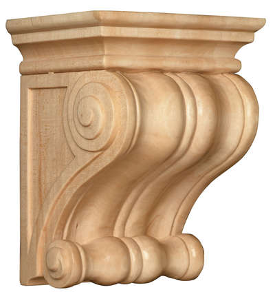 Classic Corbel, 7''w x 9''h x 5 1/2''d, Lindenwood picture