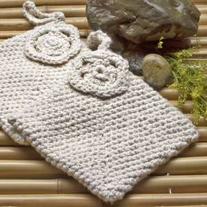 Square Joy Pot Holder - 100% Certified Organic Cotton picture