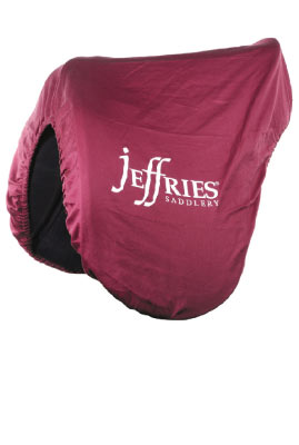 Deluxe Fleece Lined Saddles Cover with Jeffries Logo picture