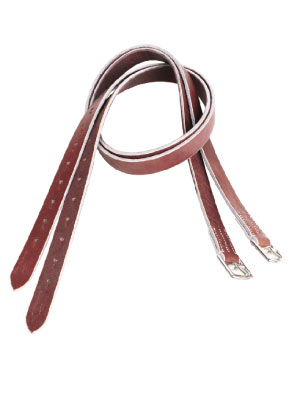 Buffalo Hide Stirrup Leathers picture