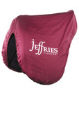 Deluxe Fleece Lined Saddles Cover with Jeffries Logo