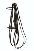 Show Weymouth Bridle with Raised Show Noseband
