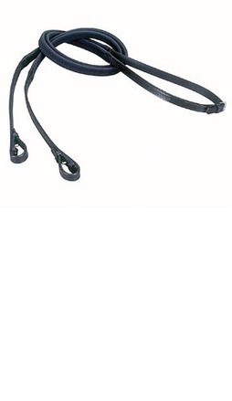 Nylon Lined Rubber Grip Reins picture
