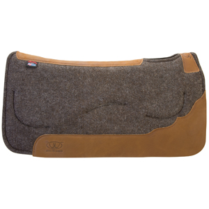 Contoured Layered Felt Saddle Pad with Gel Insert picture