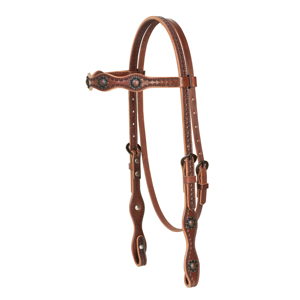 Sundance Scalloped Browband Headstall picture