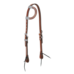Austin Flat Sliding Ear Headstall picture