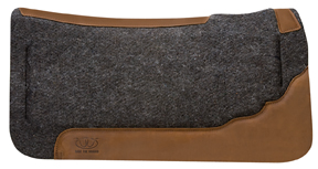 Contoured Layered Felt Saddle Pad with Memory Foam Insert picture