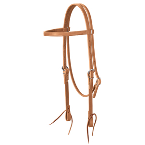 Harness Leather Browband Headstall picture