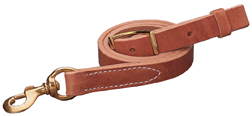 "Harness Leather Tie Down Strap, 1"" x 40"" picture"