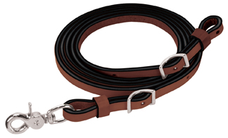 "Bridle Leather Roper Rein, 5/8"" x 7' picture"