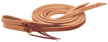 "Single-Ply Heavy Harness Split Reins, 5/8"" x 8' picture"