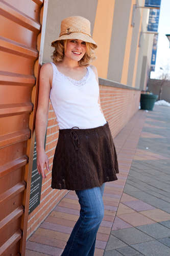 Perfecta Skirt/Capelet Pattern picture
