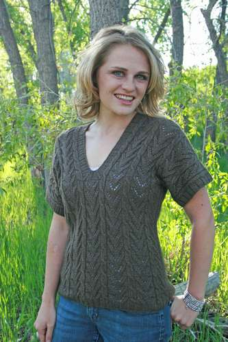 Copacabana V-Neck Top Pattern picture